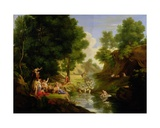 An Arcadian Landscape with Deities, C.1793 Giclee Print by Thomas Barker of Bath