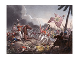 Battle of Assaye, 23 September 1803, Engraved by J.C. Stadler, Published by Thomas Tegg, 1st… Giclee Print by William Heath