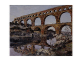 Pont Du Gard, 1890 Giclee Print by Emmanuel Lansyer