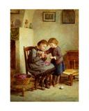 La Tricoteuse Giclee Print by Pierre Edouard Frere