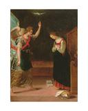 Annunciation Giclée-tryk af Lavinia Fontana