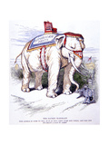 'The Sacred Elephant', 1884 Giclee Print by Thomas Nast