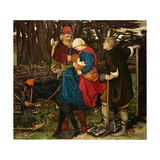 The Holy Family Giclee Print by John Roddam Spencer Stanhope