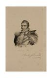 Charles Ferdinand De France, Duc De Berry (1778-1820) 1814 Giclee Print by Francois Seraphin Delpech
