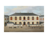 The House of Byron Bininger (1826-1903), Shanghai, C.1870 Giclee Print by  Chow Qua