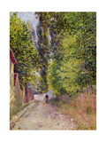 Landscape Near Louveciennes, 1876 Giclee Print by Alfred Sisley