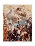 The Martyrdom of St. George Giclée-Druck von Paolo Veronese