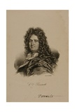 Portrait of Charles Perrault (1628-1703) Giclee Print by Francois Seraphin Delpech