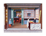 Silk Shop, C.1825 Giclee Print