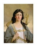 Erin, the Spirit of Ireland, 1898 Giclee Print by Talbot Hughes