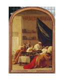The Death of Raymond Diocres, from the Life of St. Bruno, 1645-48 Giclee Print by Eustache Le Sueur