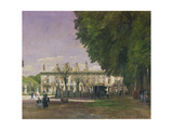 The Ruins of the Chateau De Saint-Cloud in 1871 Giclee Print by Francois Louis Francais