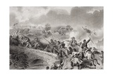 The Taking of the Bridge on Antietam Creek at the Battle of Antietam, Maryland, 1862 Giclee Print by Felix Octavius Carr Darley