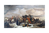 The Capitulation of Kars During the Crimean War on 28th November 1855, C.1860 Impression giclée par Thomas Jones Barker