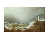 Eastern Point Light, Gloucester Harbour, 1888 Giclee Print by Clement Drew