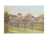 The Last Ray of Sun, 1873 Giclee Print by Alfred Sisley