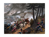 Battle of the Pyrenees in 1813, Engraved by J.C. Stadler, Published by Thomas Tegg, 1818 Giclee Print by William Heath