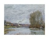 The Seine at Port Marly, 1873 Giclee Print by Alfred Sisley