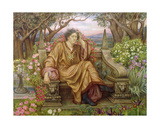 A Soul in Hell Giclee Print by Evelyn De Morgan