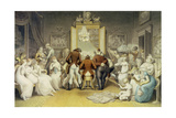 The Triumph of Music, C.1820 Giclee Print by Edward Francis Burney