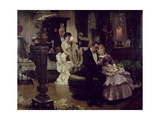 The Conversation Piece Giclee Print by Solomon Joseph Solomon