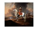 Lieutenant-Colonel Randolph Egerton Mp (D.1681) of the King's Troop of Horse Guards, C.1672 Giclee Print by Jan Wyck