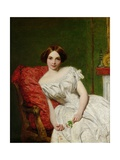 Portrait of Annie Gambart Giclee Print by William Powell Frith