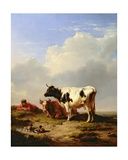 Midday Rest, 1847 Giclee Print by Eugene Joseph Verboeckhoven