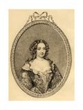 Francoise Athenais De Rochechouart (1641-1707) Marquise De Montespan Giclee Print