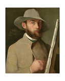Self Portrait, C.1890 Giclee Print by Charles Maurin