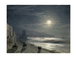 Moon Night, 1885 Giclee Print by Ivan Konstantinovich Aivazovsky