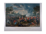 The 31st Regiment, Sir Harry Smith's Division Advancing to the Charge at the Battle of Moodkee… Giclee Print by Major G.F. White