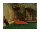 Interior of the Sistine Chapel, Rome Giclee Print by Leon Joseph Florentin Bonnat