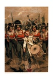 Up, Guards, and at Them! 1899 Giclee Print by Richard Caton Woodville