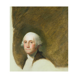 Portrait of George Washington Giclee Print by Jane Stuart