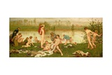 The Bathers, 1865-7 Giclee Print by Frederick Walker