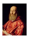 Cardinal Antoine Perronot De Granvelle (1517-86) Giclée-tryk af Scipione Pulzone