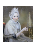 Mrs Jeremy Dixon of York (Pastel) Giclee Print by John Russell