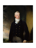 Portrait of William Robertson of Chilcote, 1816 Giclée-tryk af Thomas Lawrence
