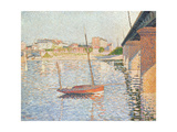 Le Clipper, Asnieres, 1887 Giclee Print by Paul Signac