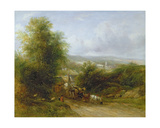 The Timber Gill Giclee Print by Frederick Waters Watts