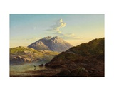 Glamis from Loch Sligachan Giclee Print by Arthur Gilbert