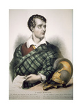 Lord Byron (1788-1824) 1827 Giclee Print by Thomas Fairland