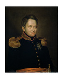 Portrait of Willem Frederik (1772-1843) Prince of Orange, 1830 Giclee Print by Charles Louis Acar