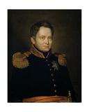 Portrait of Willem Frederik (1772-1843) Prince of Orange, 1830 Giclee Print by Charles Louis Acar