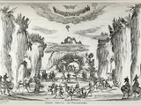 Scene of Vulcan's Grotto from the Series 'The Nuptia of the Gods', 1637 Photographic Print by Stefano Della Bella