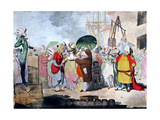 A Sale of English Beauties in the East Indies Giclee Print by James Gillray