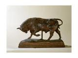 Small Bull Giclee Print by Antoine Louis Barye