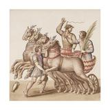 Ms Gen 1496 Plate Cxiii Gladiators, 1674 Giclee Print by Pietro Santi Bartoli