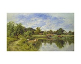 A Peaceful Day Giclee Print by Henry Parker